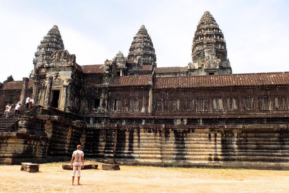 Angkorvata tempļu kompleksā - Labākās budžeta viesnīcas Siem Reap