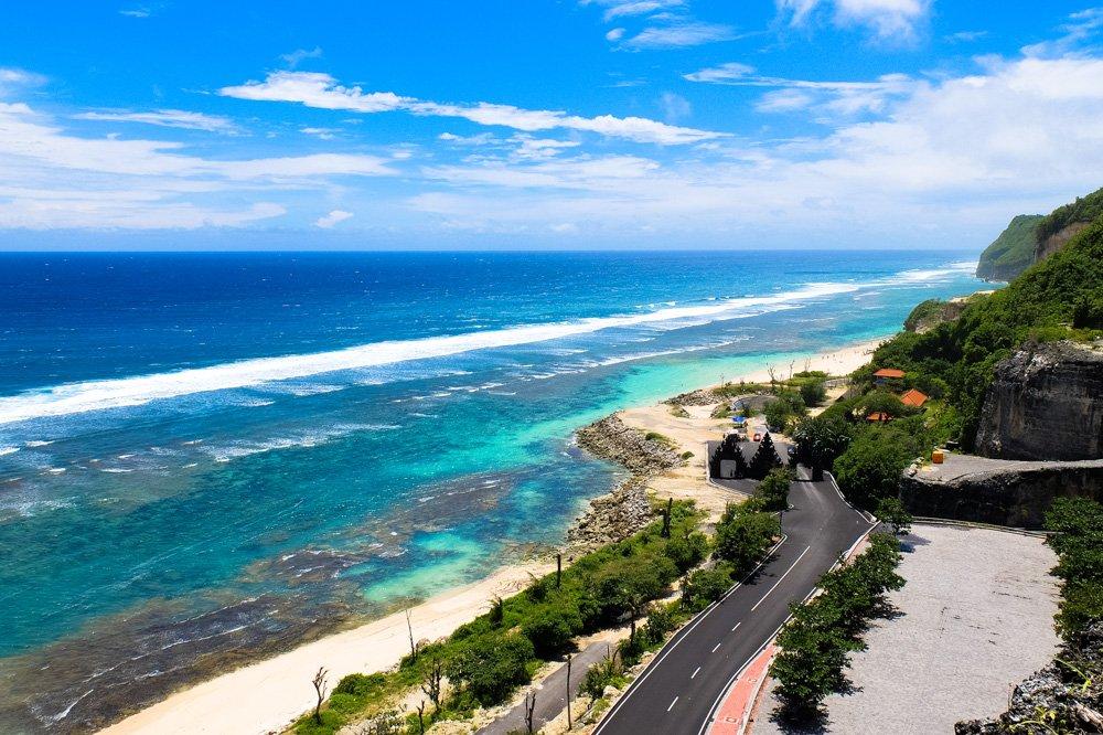 Bali dienvidu piekraste - Labākās budžeta viesnīcas Bali