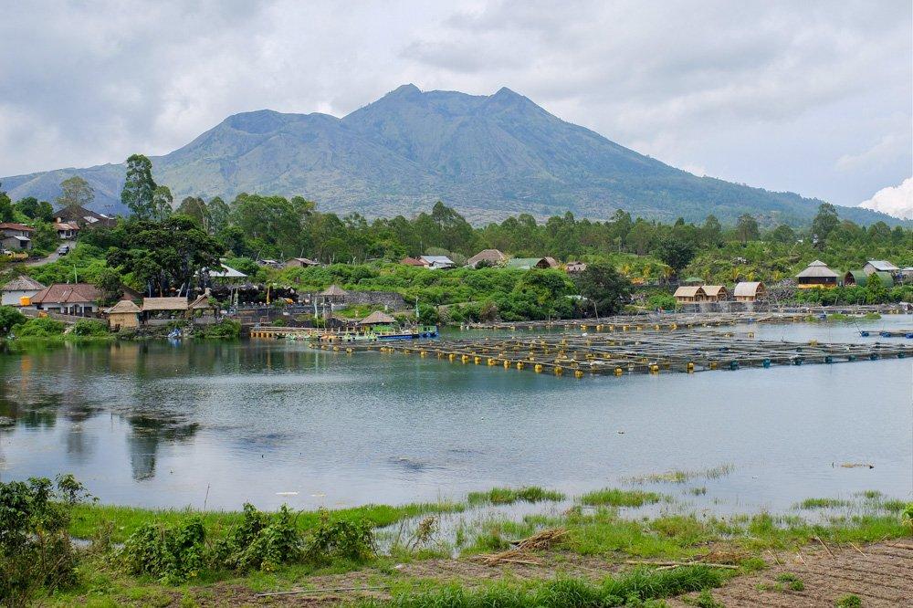 Batur vulkāns Bali salā - Labākās budžeta viesnīcas Bali