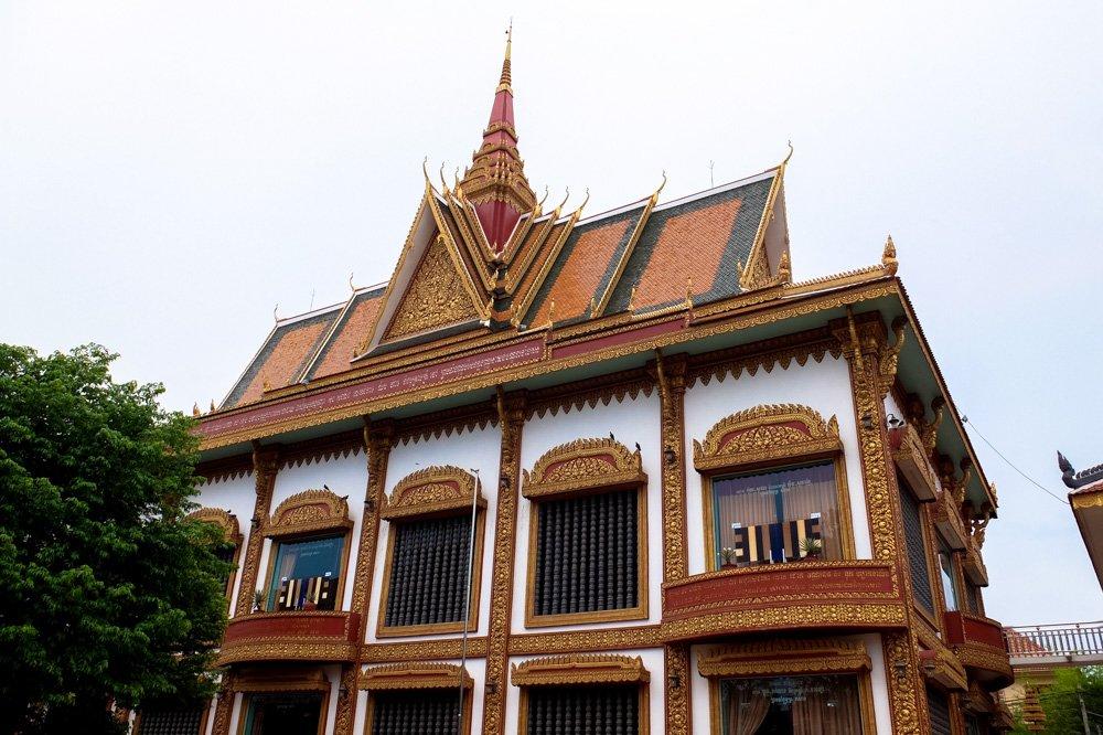 Budistu templis - Labākās budžeta viesnīcas Siem Reap