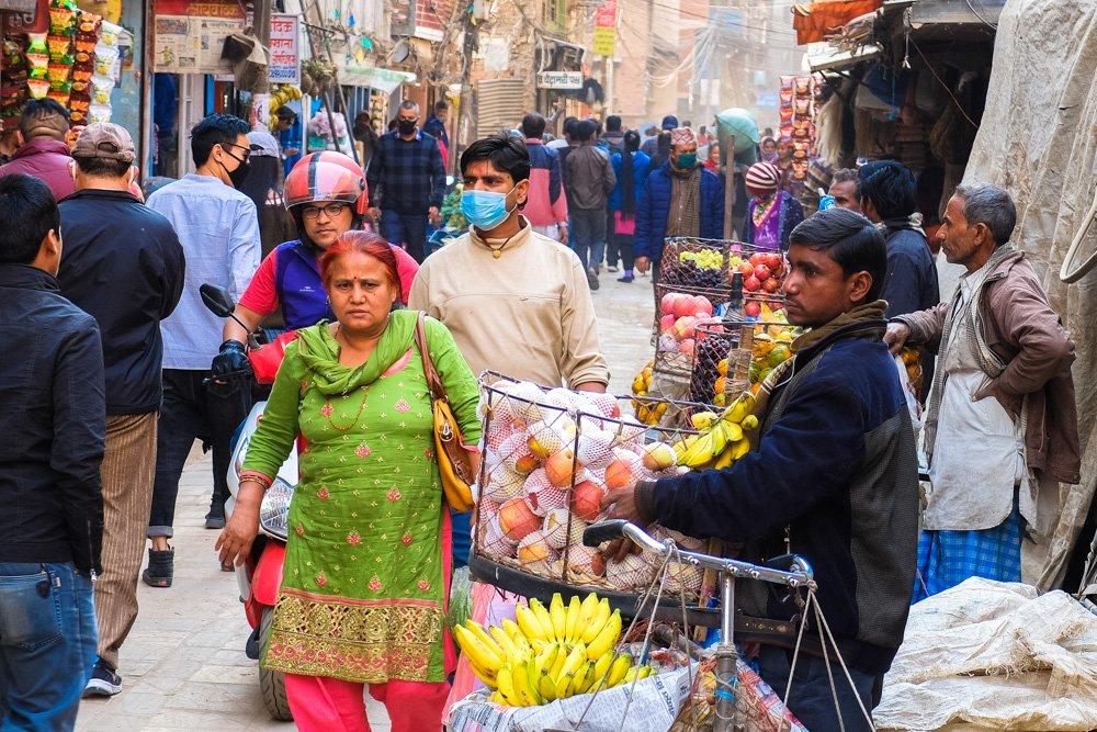 Katmandu ielas - Labākās budžeta viesnīcas Katmandu