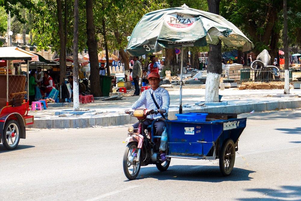 Motocikls - veikals Pnompeņā - Labākās budžeta viesnīcas Pnompeņā