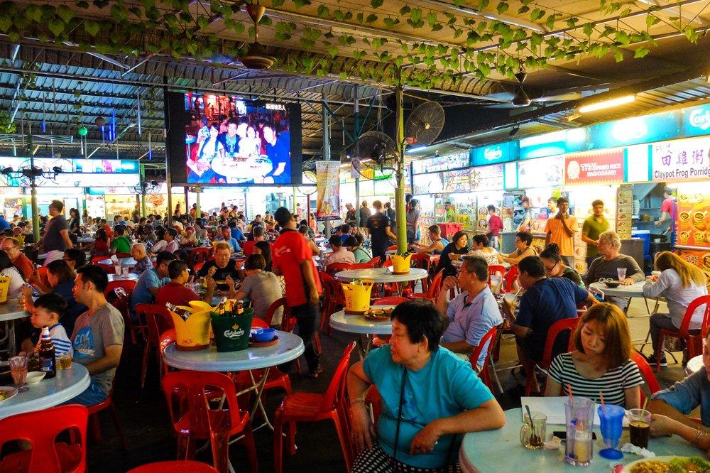 Red Garden kompleksā Penangā - Labākās budžeta viesnīcas Penangā