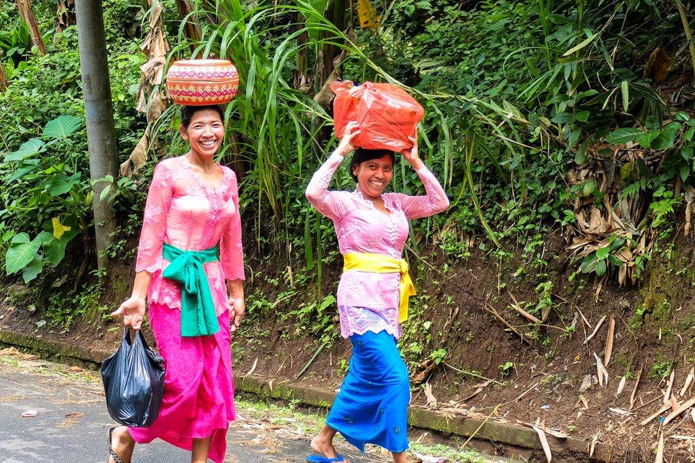 Sievietes Bali - Labākās budžeta viesnīcas Bali