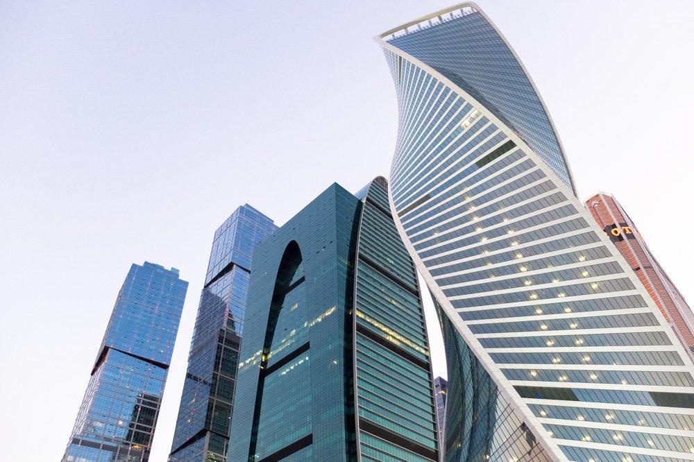 Debesskrāpji Maskavas biznesa rajonā - Labākās budžeta viesnīcas Maskavā