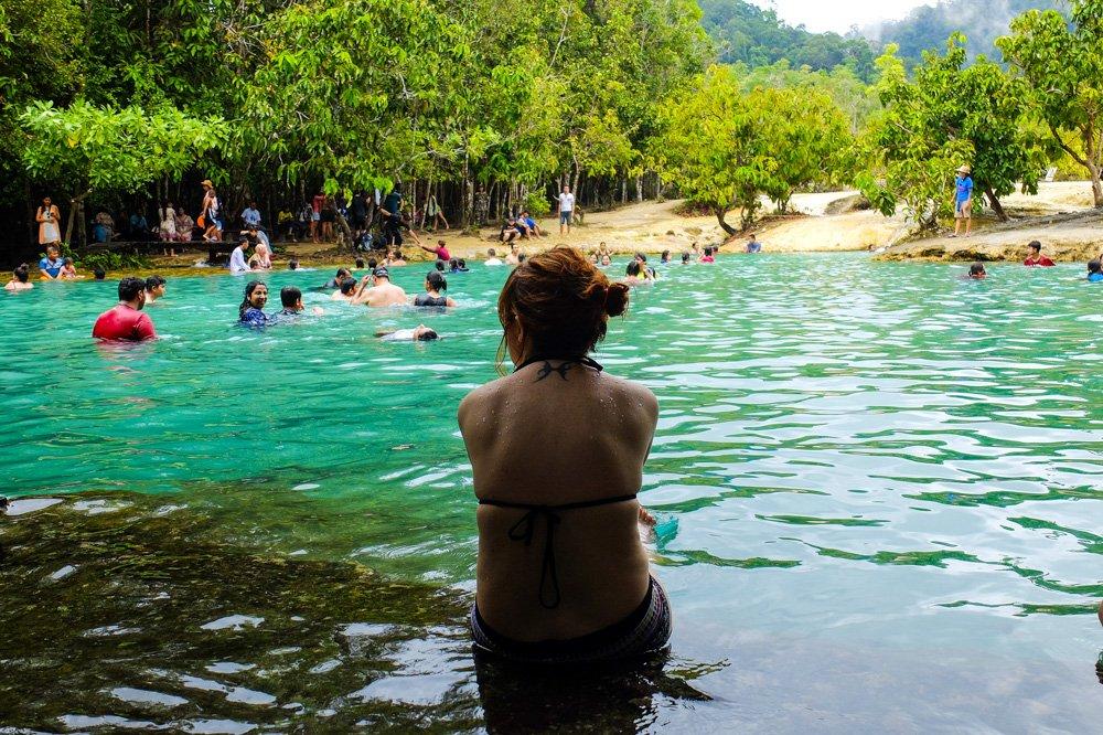 Emerald Pool dabīgais baseins džungļos - 2 nedēļas Taizemē - Ceļojuma plāns