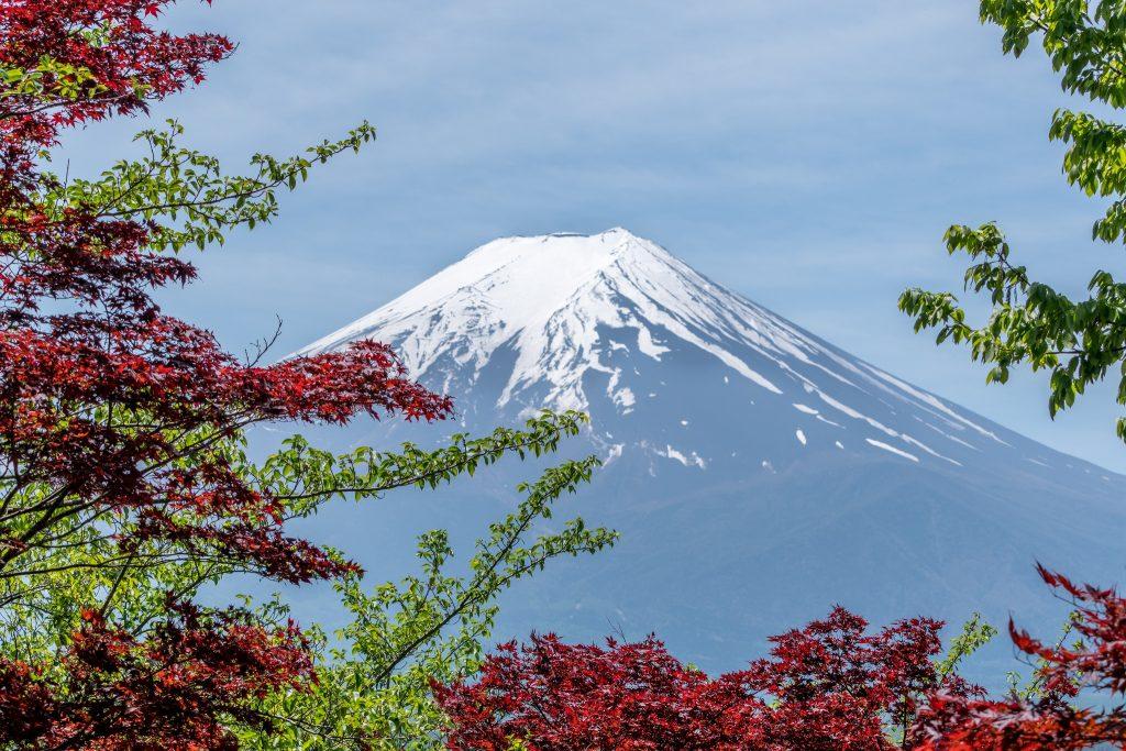 Fudzi vulkans Japana - Japanas viza