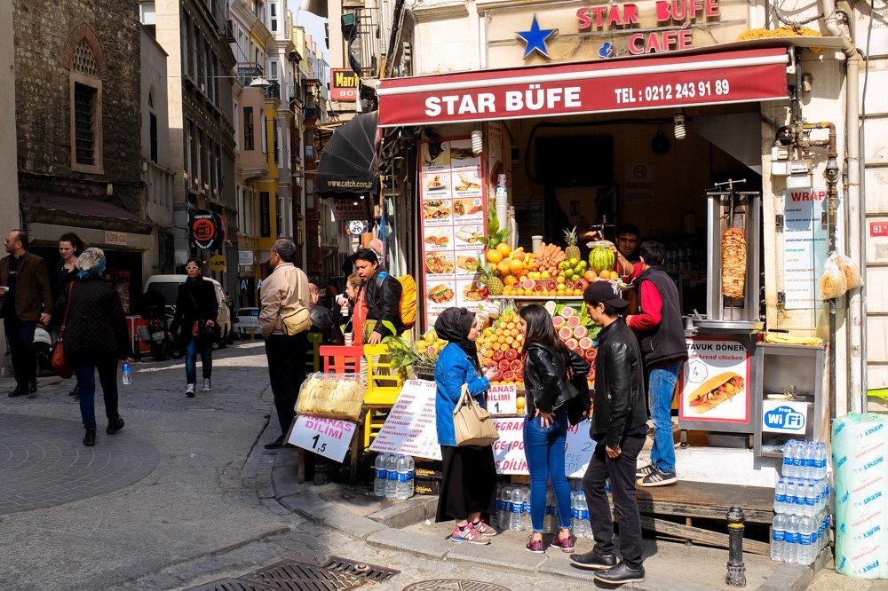 Kafejnīca Stambulā- Labākās budžeta viesnīcas Stambulā