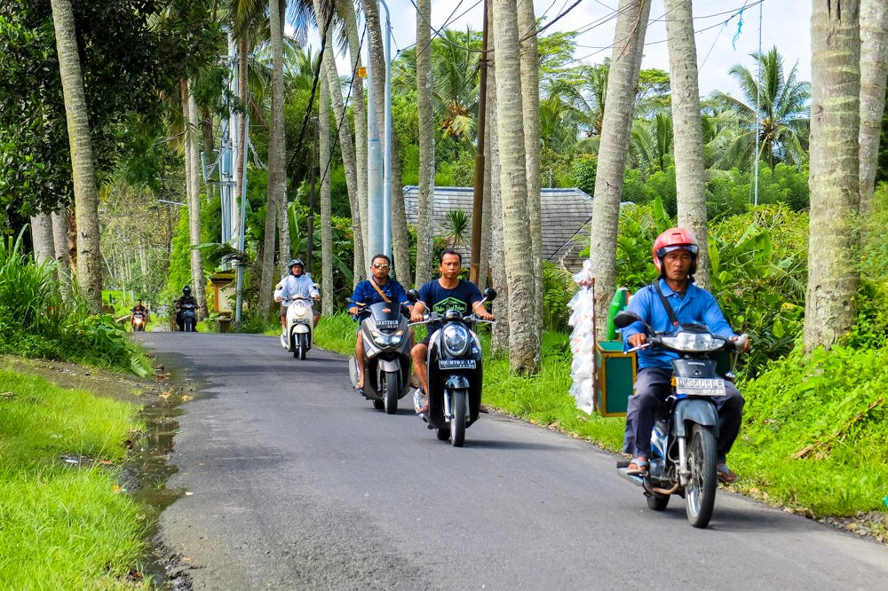 Lauku ceļš - Ar motorolleri pa Bali salu