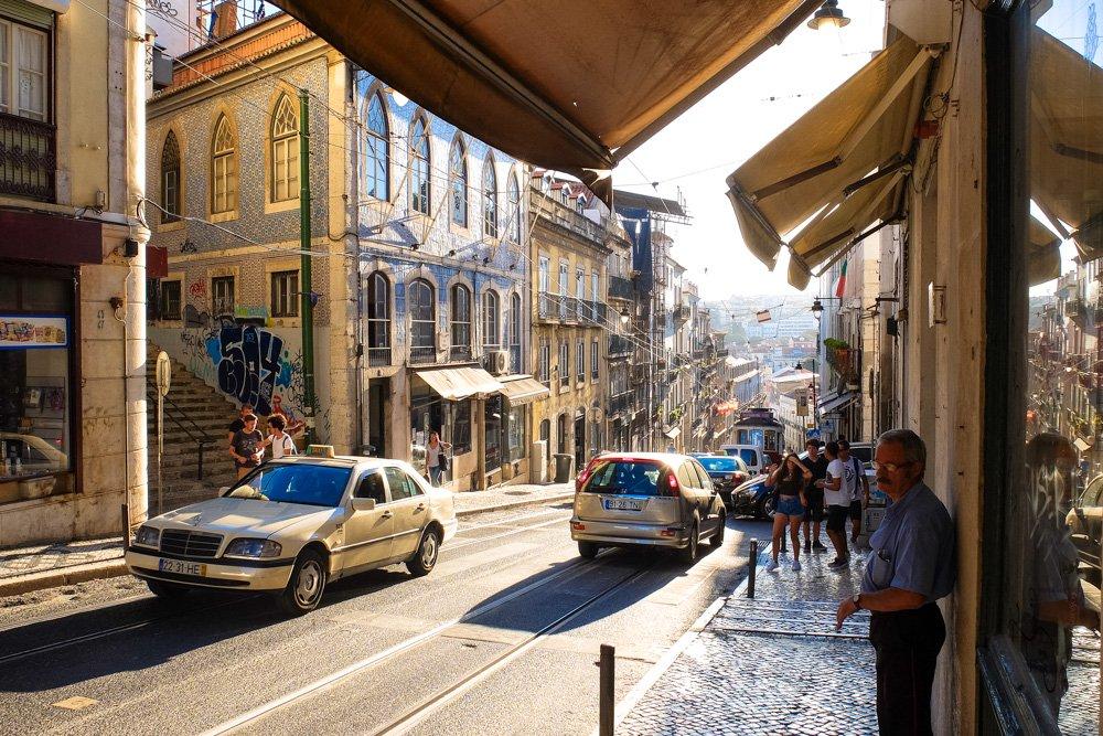 Lisabonas ielas - Labākās budžeta viesnīcas Lisabonā