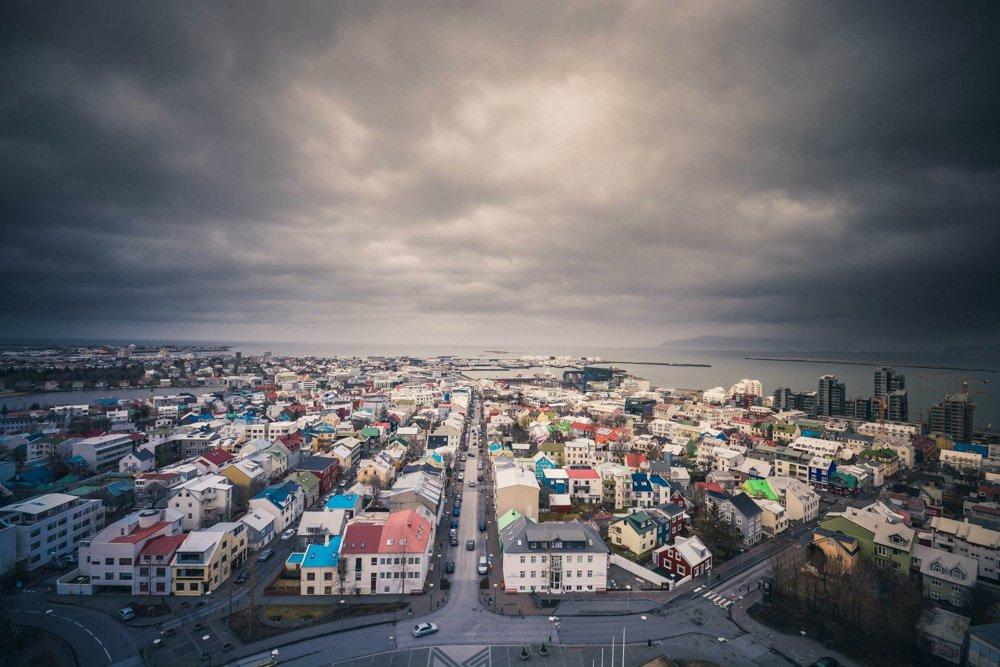 Reikjavika - Labākās budžeta viesnīcas Islandē
