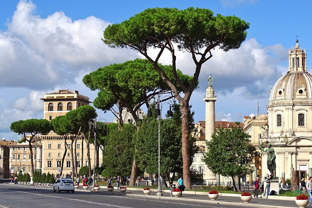Romas ielas - Labākās budžeta viesnīcas Romā