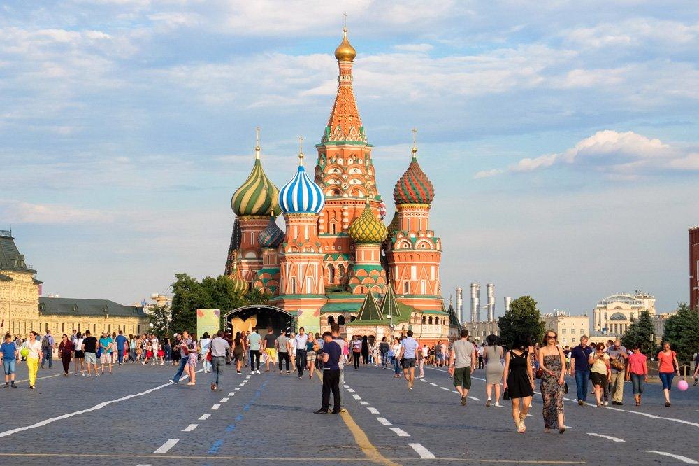 Sarkanajā laukumā Maskavā - Labākās budžeta viesnīcas Maskavā