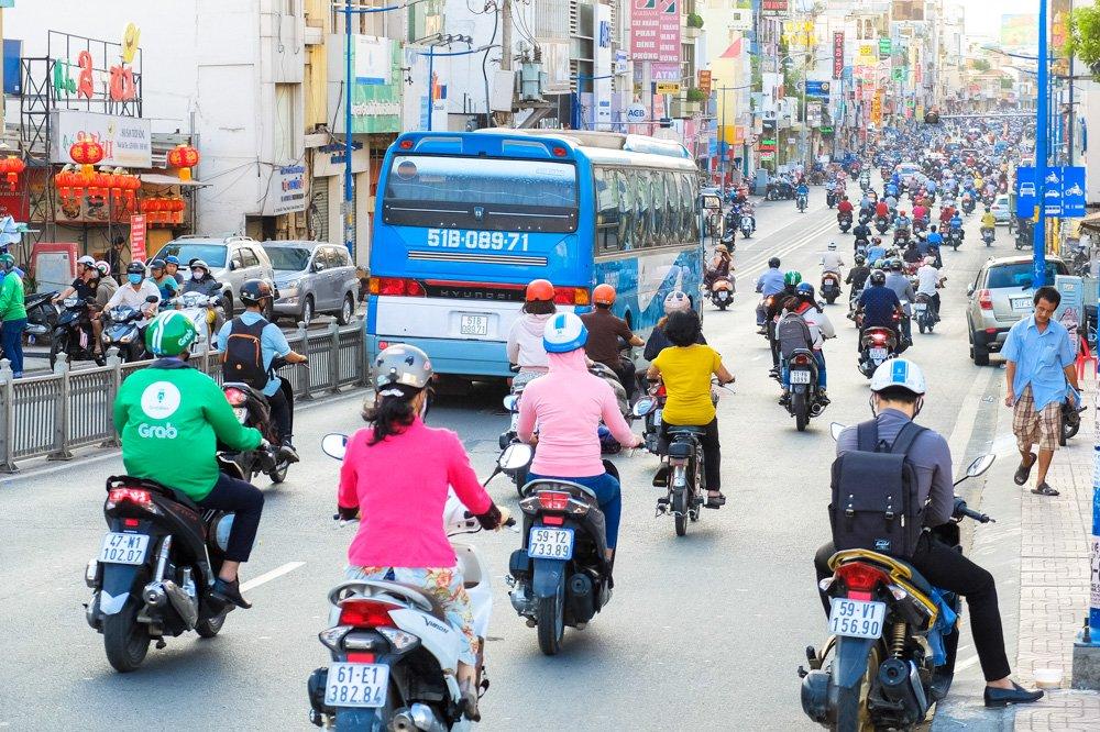 Satiksme Hošiminā - 2 nedēļas Vjetnamā ceļojuma plāns