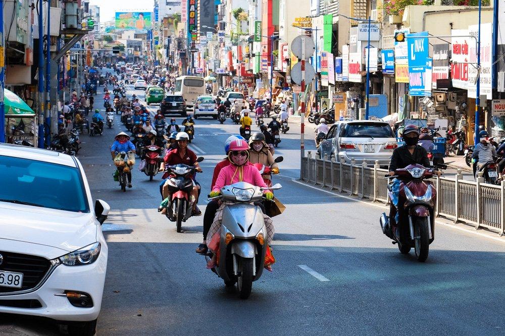Satiksme Hošiminā - Vjetnamas vīza - Vīza uz Vjetnamu
