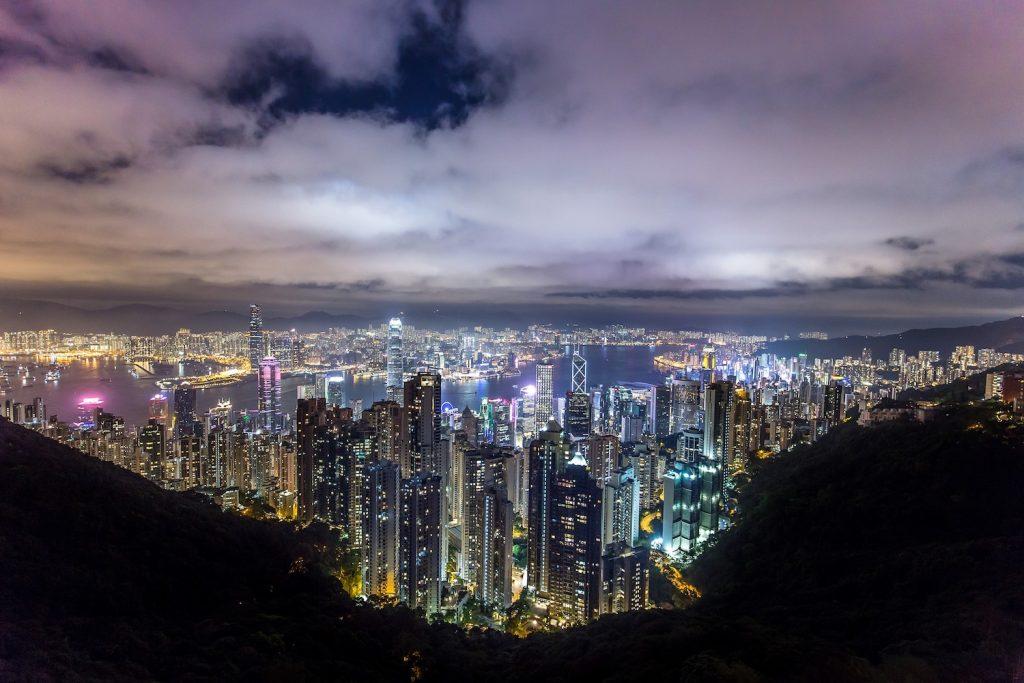 Skats uz Honkongu - Honkongas viza