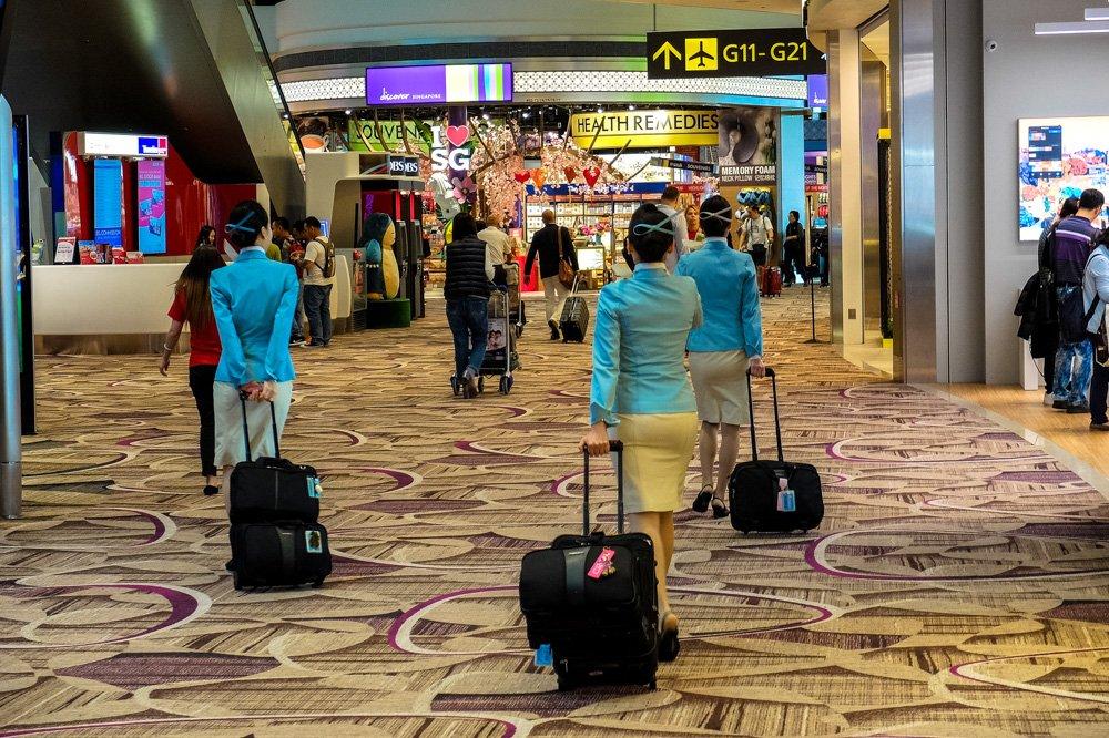 Stjuartes Singapūras lidostā - Ieteikumi, dodoties pirmajā avioceļojumā
