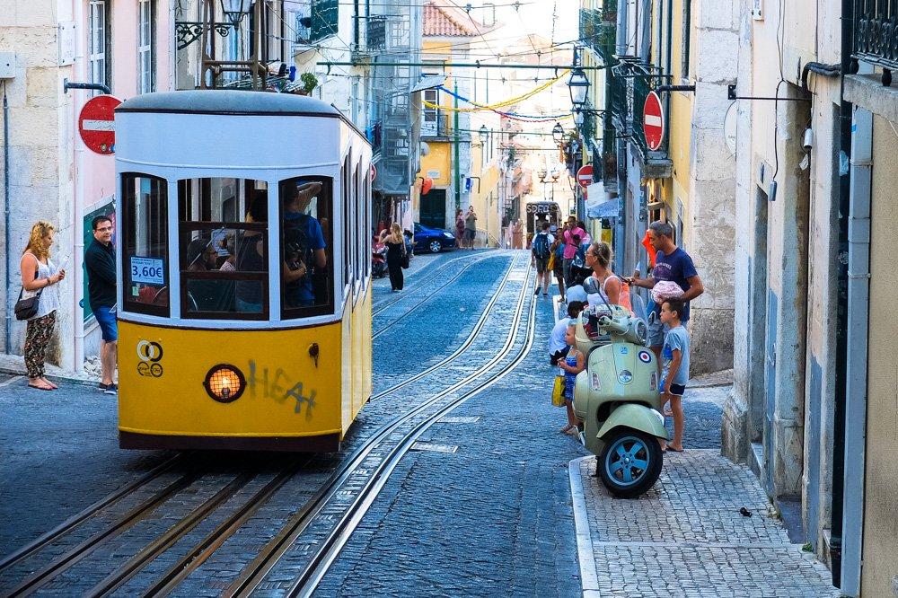 Tramvajs Lisabonā - Labākās budžeta viesnīcas Lisabonā