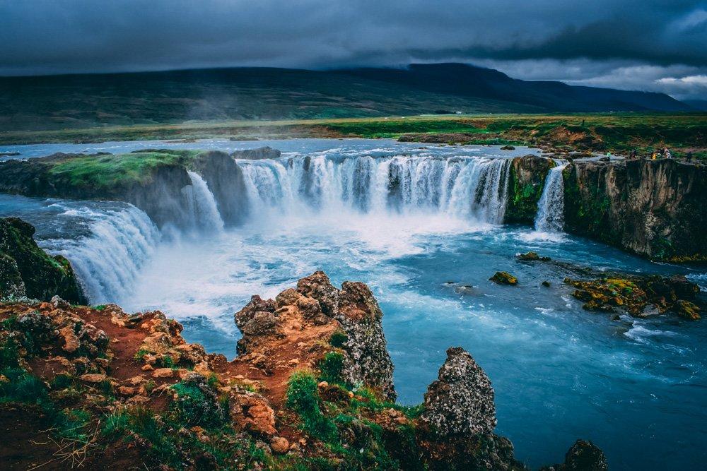 Ūdenskritums - Labākās budžeta viesnīcas Islandē