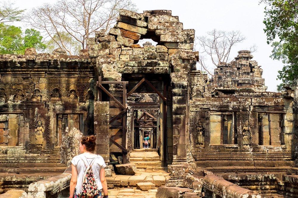 Angkorvata tempļu kompleksā - 2 nedēļas Kambodžā