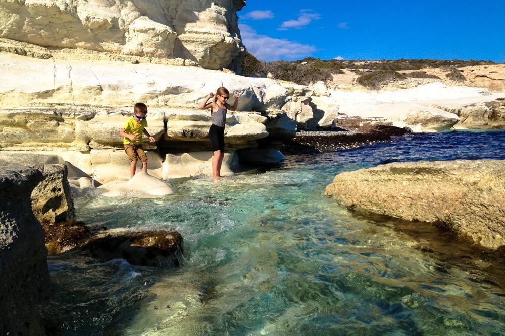 Balto akmenu pludmales - Ceļojums uz Kipru