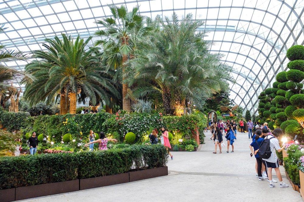 Botāniskais dārzs Singapūrā - 2 nedēļas Malaizijā