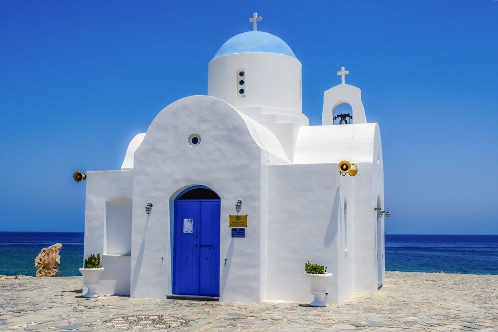 Neliela baznīca Kiprā - Ceļojums uz Kipru