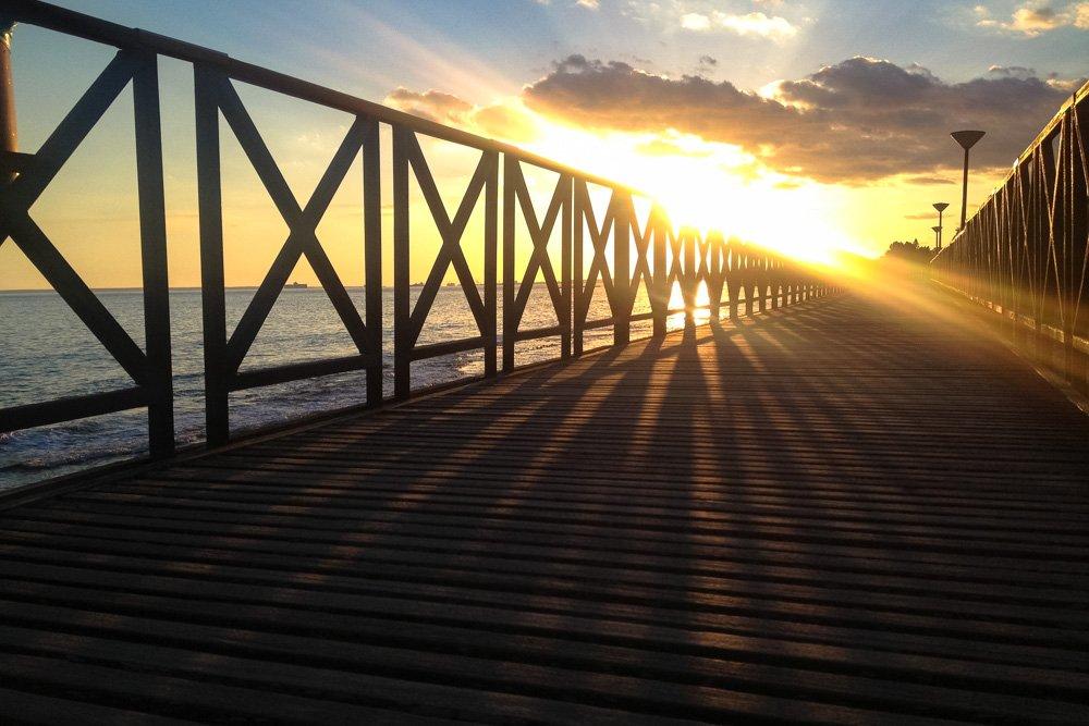 Promenade Limasolaa - Ceļojums uz Kipru