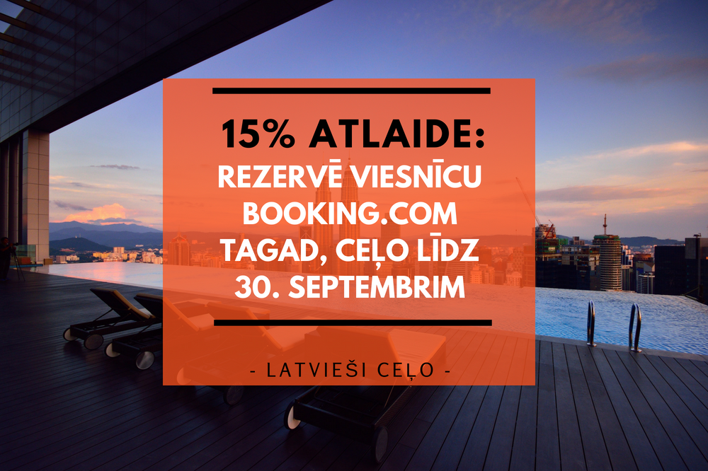 15% atlaide booking.com