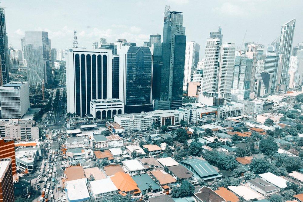 Debesskrāpji - Labākās budžeta viesnīcas Manilā