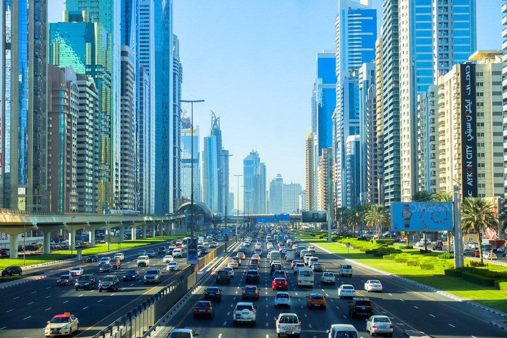 Dubaijas satiksme - Labākās budžeta viesnīcas Dubaijā