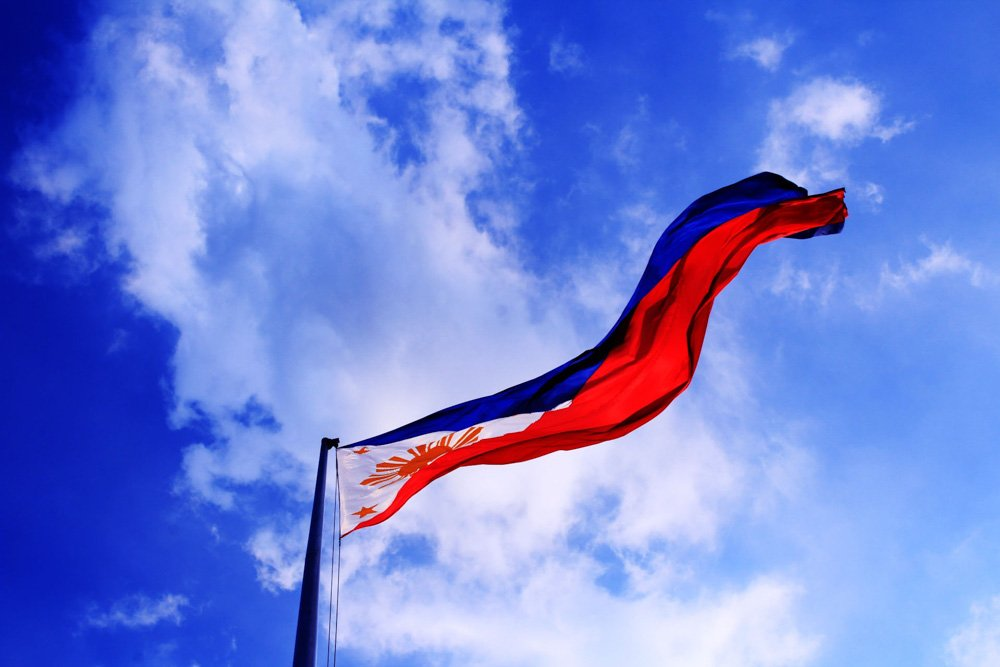 Filipīnu karogs - Labākās budžeta viesnīcas El Nido