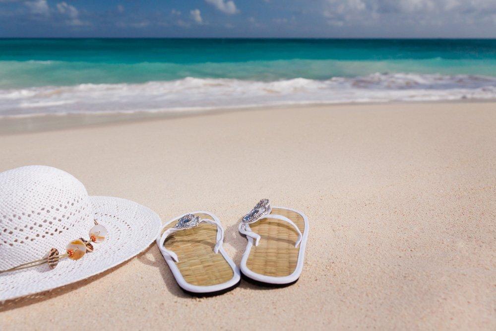 Cepure un čības pludmalē - Labākās budžeta viesnīcas Jeju