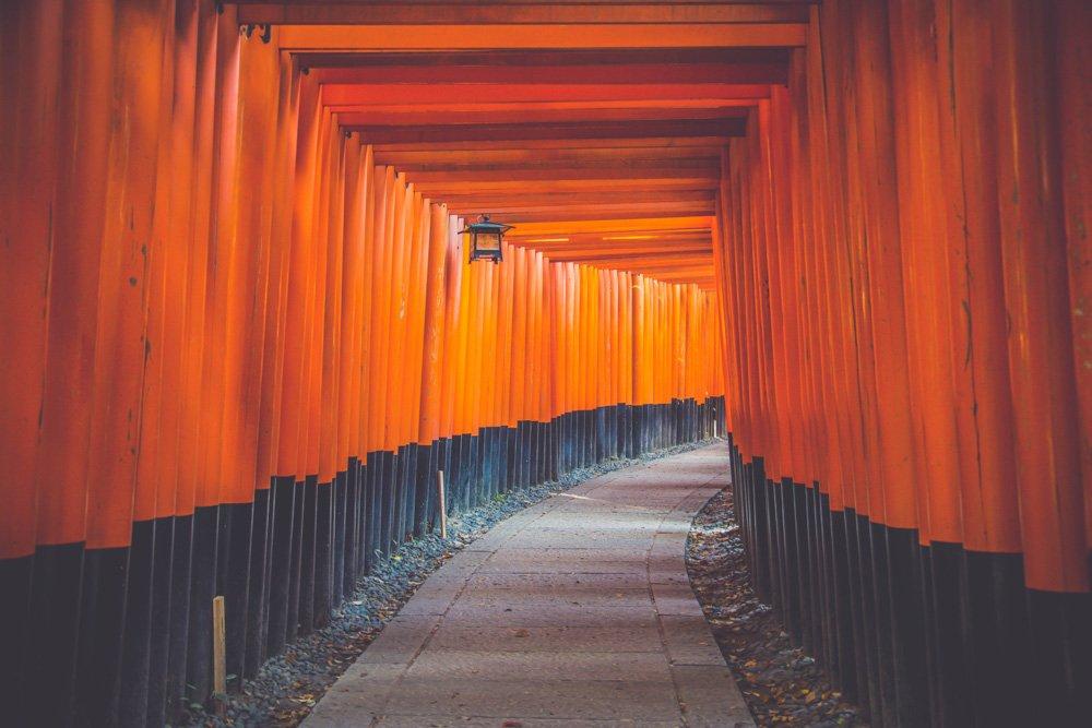 Vārti Japānā - Labākās budžeta viesnīcas Kioto