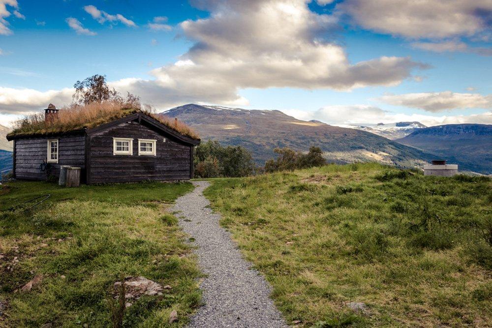 Kalnu namiņš Norvēģijā - Labākās budžeta viesnīcas Trondheimā