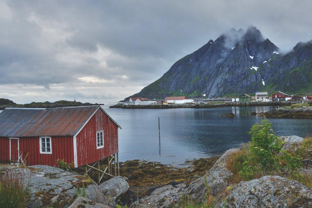 Mājiņa pie fjorda - Labākās budžeta viesnīcas Oslo Norvēģijā