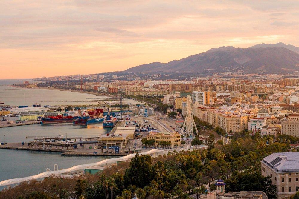 Malaga, Spānija