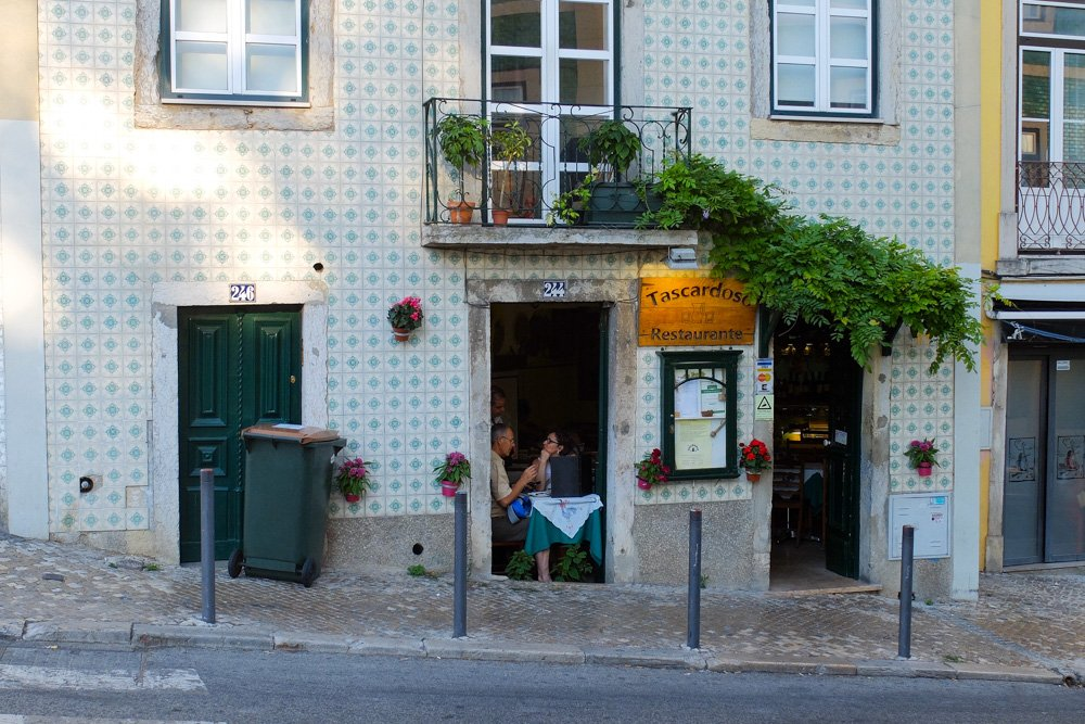 Restorāns Faro, Portugālē