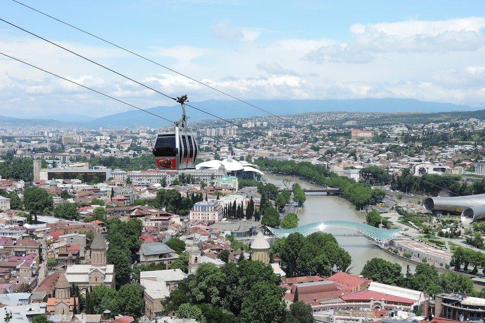 Skats uz Tbilisi, Gruzija
