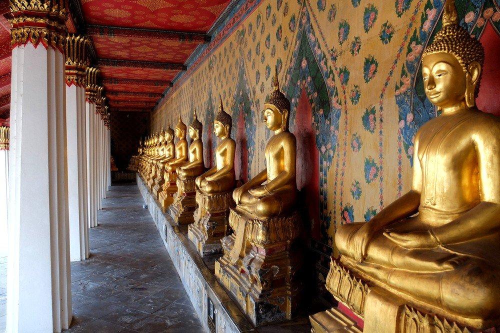 Wat Pho templī Bangkokā, Taizemē