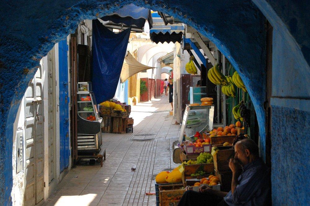 Šķērsiela Rabatā, Marokā