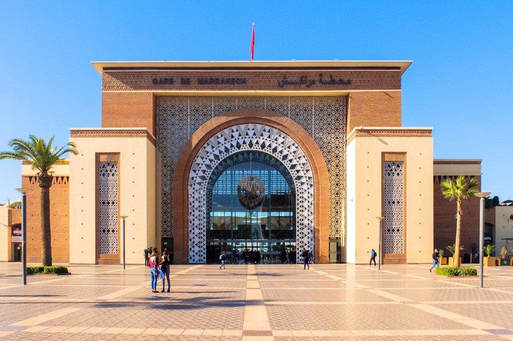 Marakešas dzelzceļa stacija - Ceļojums uz Maroku