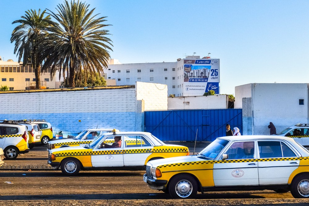 Taksometri Agadirā, Marokā