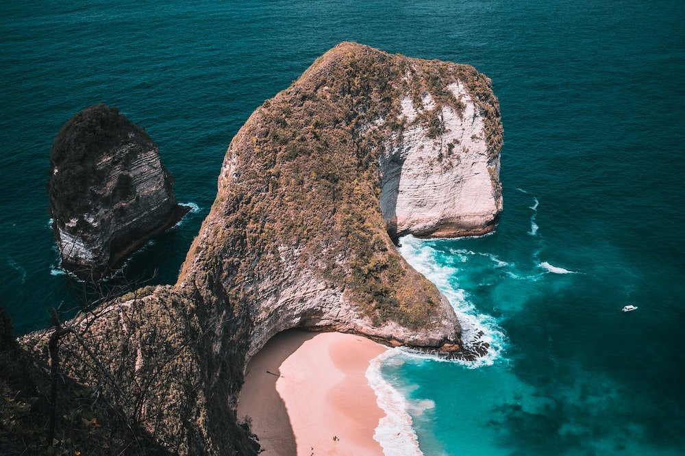 Nusa Penida sala, Indonēzija