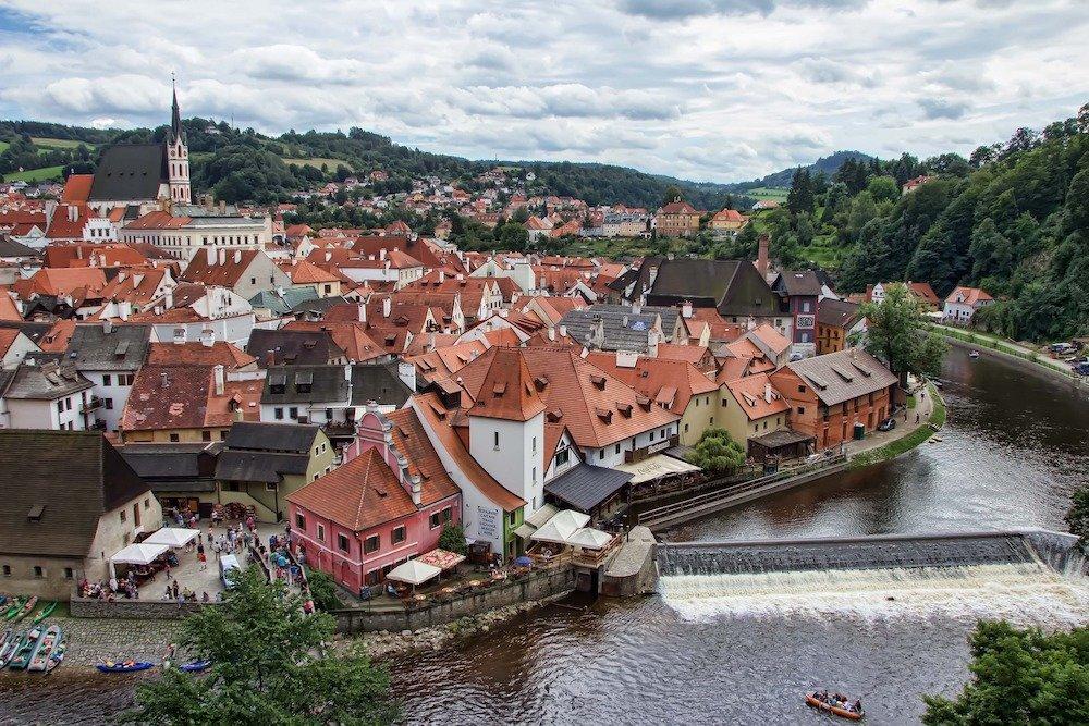 Česki Krumlova, Čehija