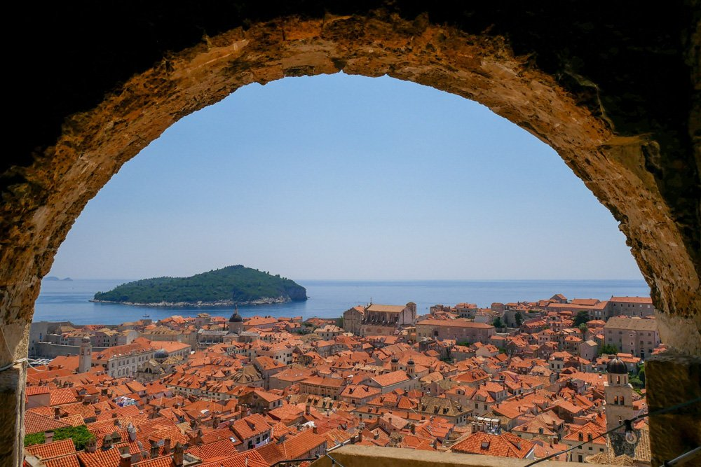 Dubrovniki - Skats no augšas
