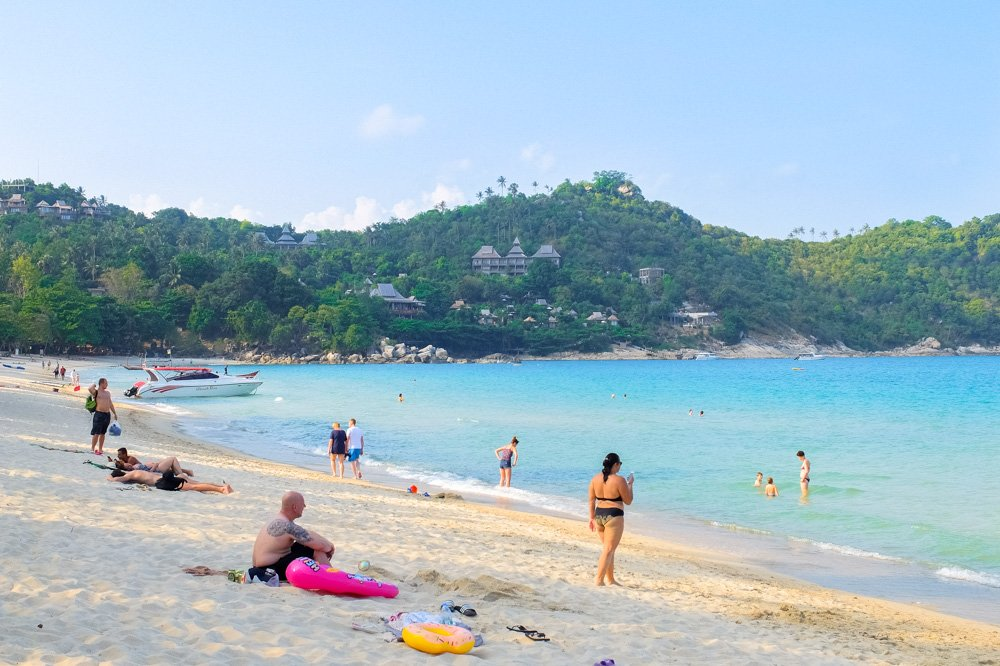Ao Thong Nai Pan pludmale - Koh Pha Ngan