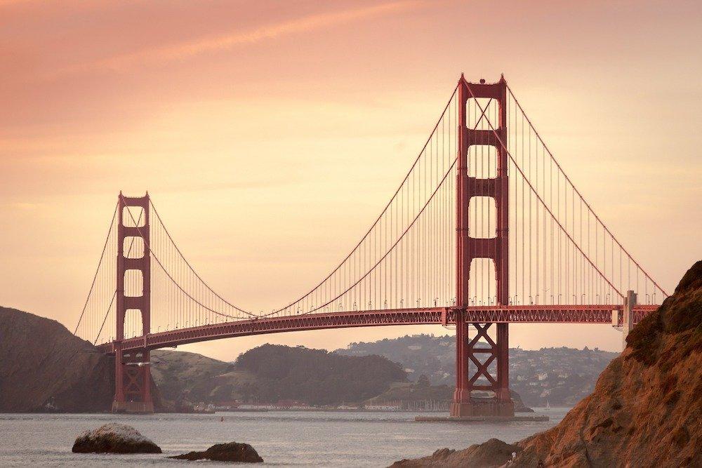 Tilts Sanfrancisko, ASV