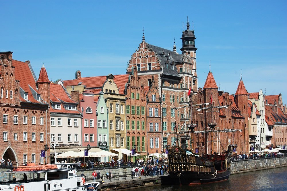 Gdaņska, Polija