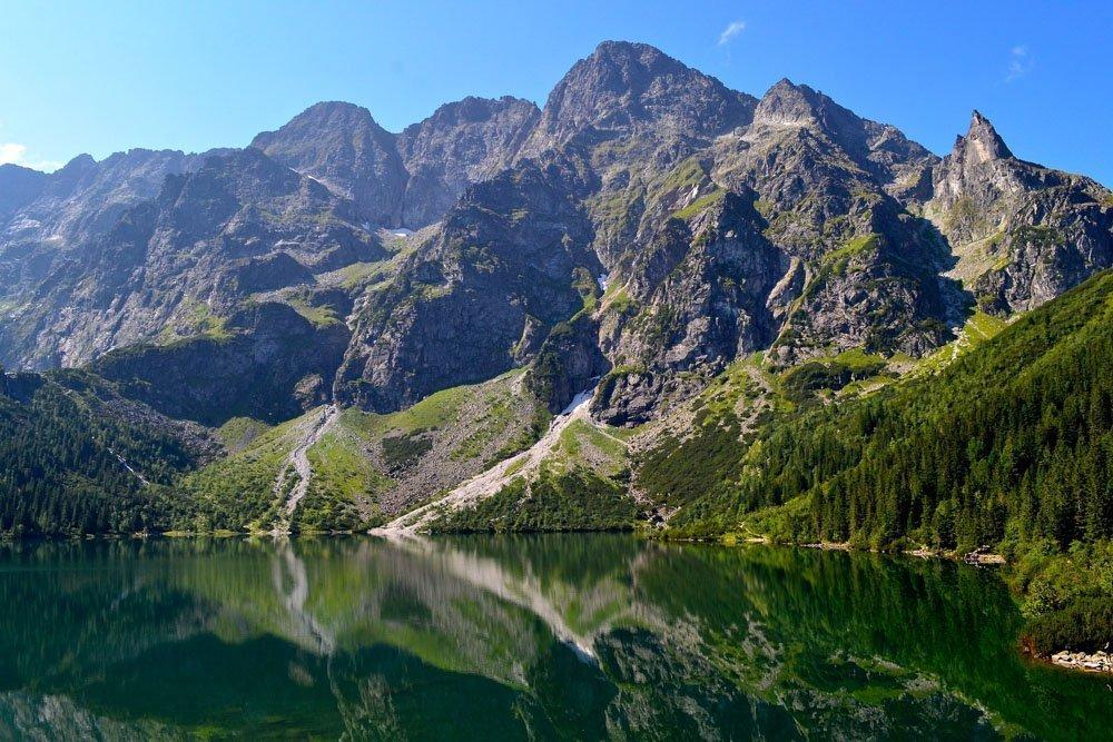 Kalni pie Zakopane, Polijā